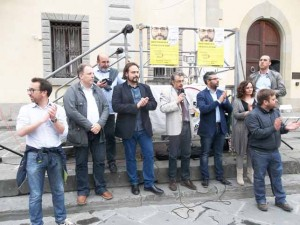 I 5 Stelle in piazza Duomo