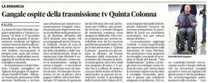 Il Tirreno, 6 maggio 2015