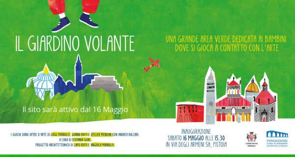 """""""IL GIARDINO VOLANTE"""", NUOVO PARCO DI ARTE AMBIENTALE"""