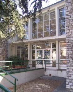 L'ingresso della scuola d'infanzia