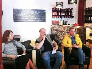 Legambiente: Federica Saisi, Samuele Pesce e Antonio Sessa
