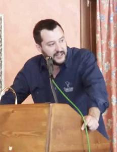 Matteo Salvini al Lago Verde