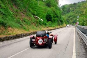 Mille Miglia 2015. Auto in gara