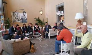 La presentazione dei candidati Fdi-An alla Regione