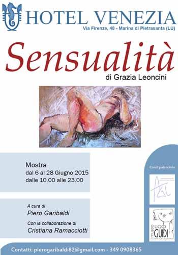 """LA """"SENSUALITÀ"""" DI GRAZIA LEONCINI"""