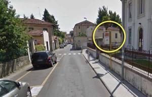 Via Cavallerizza, il posto migliore dove far fermare un bus...