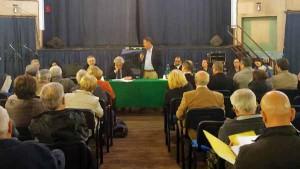 Vincenzo Ceccarelli, Luigi Marroni e il Sindaco di Bibbiena