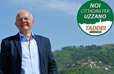 Il candidato sindaco Alessandro Taddei