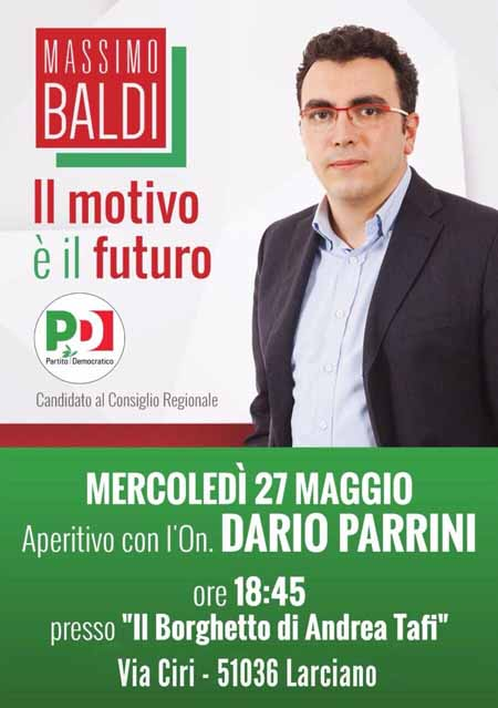 BALDI CON DARIO PARRINI A LARCIANO
