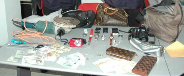 TENTATI FURTI A QUARRATA: 25NNE ALBANESE ARRESTATO. BOLLETTINO CARABINIERI DEL 2 MAGGIO