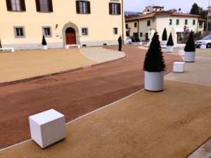 Piazza don Milani a Montemurlo