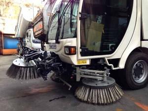 pulizia strade---
