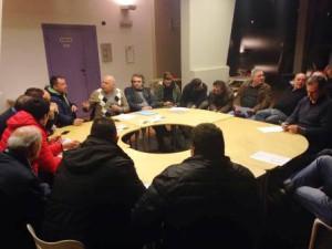 Una delle riunioni organizzative