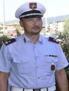 Il comandante Pm Montemurlo Gioni Biagioni