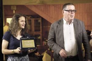 Alice Tortelli premia Nestore Morosini