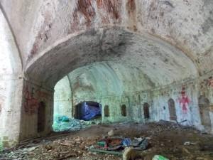 Loggiato della cannoniera, bastione Thyrion