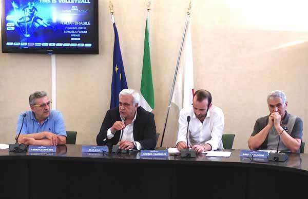 WORLD LEAGUE DI VOLLEY: A FIRENZE LA PARTITA ITALIA-BRASILE