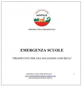 Emergenza scuole a Montale