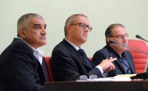 Edoardo Franceschi [al centro]