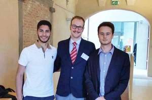 Giulio Saputo (al centro)