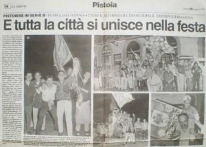 La Nazione, 26 giugno 1995