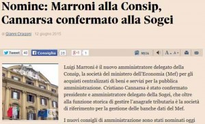 Marroni-Consip