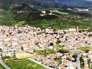 Veduta aerea di Montemurlo