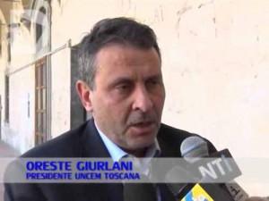 Oreste Giurlani Presidente Uncem-