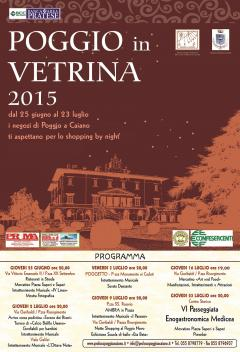 "SHOPPING BY NIGHT CON ""POGGIO IN VETRINA"""