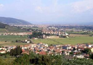 Panorama di Montemurlo