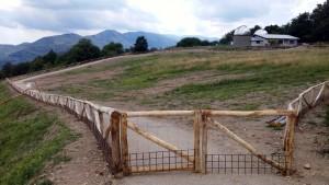 "L'area dove sorgerà il ""Parco delle Stelle"""