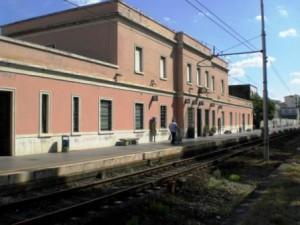 Stazione ferroviaria a Montecatini