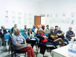 Villa di Baggio. Riunione dei comitati per la difesa degli uffici postali