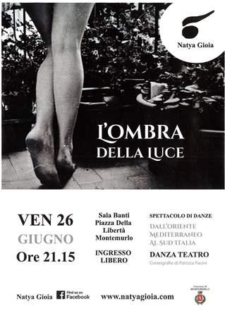 """""""L'OMBRA DELLA LUCE"""", DANZA SULL'UNIVERSO FEMMINILE"""