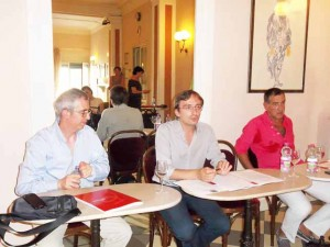 Marco Vannini, Rodolfo Sacchettini, Saverio Barsanti