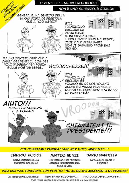 """NUOVO AEROPORTO PERETOLA, PRESENTATO  INTERVENTO """"AD OPPONENDUM"""""""