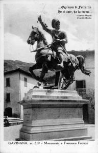 Il monumento a Francesco Ferrucci