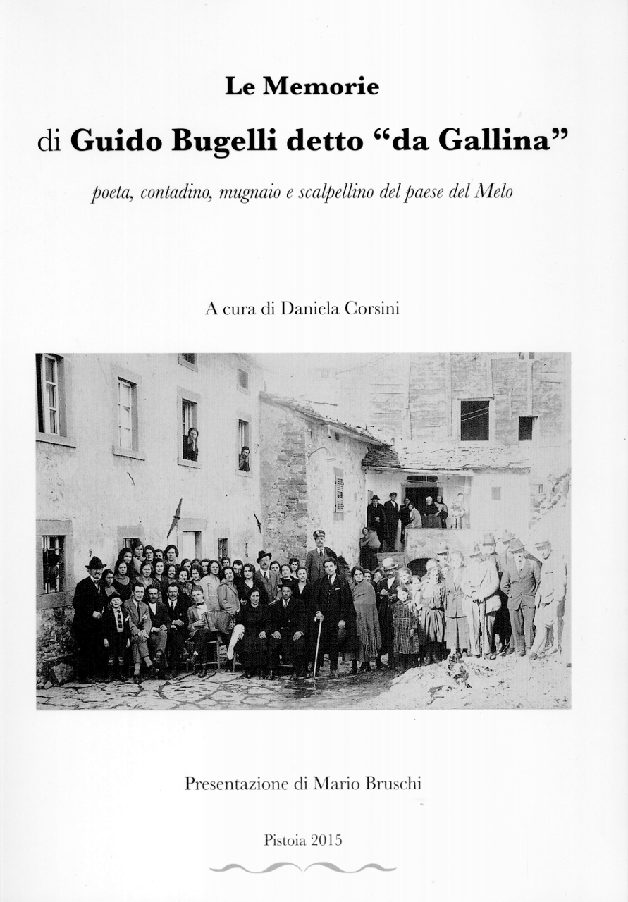 "GUIDO BUGELLI POETA, DETTO ""DA GALLINA"""