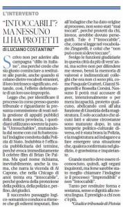 Il Tirreno, 21 luglio 2015