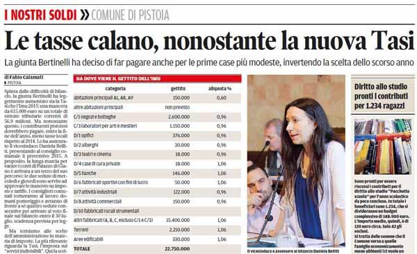 """BERTINELLI, OVVERO DELLA """"GIUNTA STOP AND GO"""""""