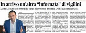 Il Tirreno, 9 gennaio 2013
