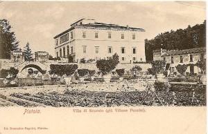 Giardino all'italiana del Villon Puccini