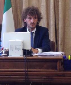 L'onorevole Edoardo Fanucci