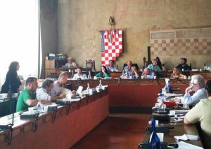 Margherita Semplici durante la discuccione del Bilancio 2015