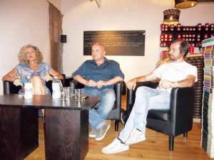 Monica Cirinnà, Flavio Romani, Claudio D'Antonio