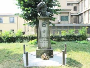 Monumento ai Bersaglieri sul Parterre