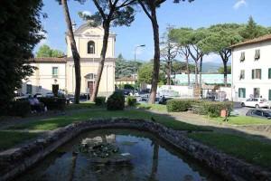 Piazza del Carmine  a Pistoia