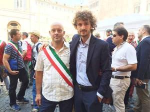 Riccardo Vespasiani, Vicesindaco di Piteglio a Roma con l'on. Fanucci
