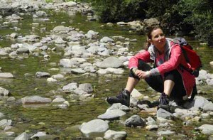 Trekking nel fiume in Casentino
