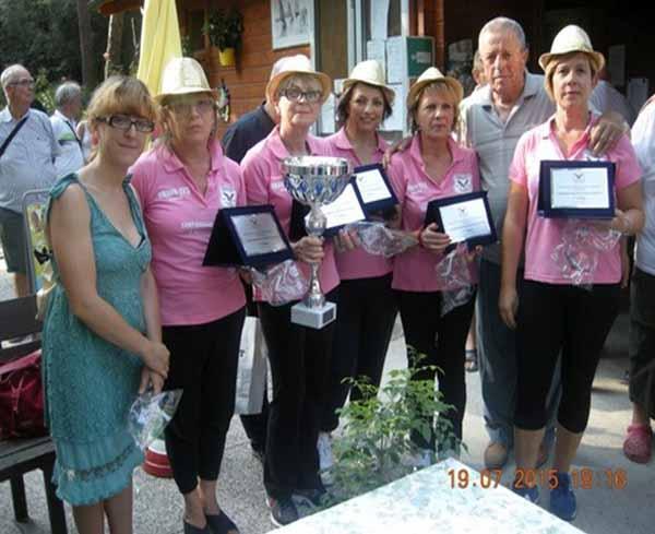 PRIMO CAMPIONATO TOSCANO FEMMINILE DI BOCCE A STRISCIO
